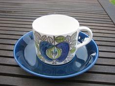 Cups & Saucers Tableware Date Range Art Pottery Porcelain Ceramics, Tea Cup Saucer, Teacup, Scandinavian Design, Pottery Art, Home Interior Design, Sweden, Dinnerware, China