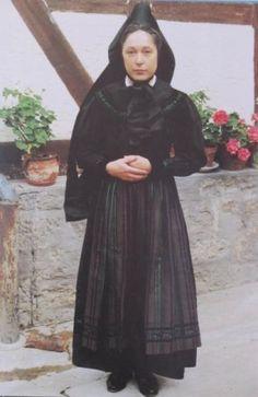 Frau in Rotenburger Tracht #Rotenburg