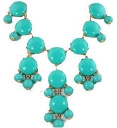 Big turquoise smooth Bubble Necklace, Green Necklace, Statement Necklace(WP-F229)  http://electmejewellery.com/jewelry/necklaces/y-necklaces/big-turquoise-smooth-bubble-necklace-green-necklace-statement-necklacewpf229-com/