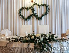 Wedding Arch Greenery, Wedding Arbors, Rustic Wedding, Head Table Wedding, Wedding Stage Decorations, Sweetheart Table, Floral Centerpieces, Simple Weddings, Marie