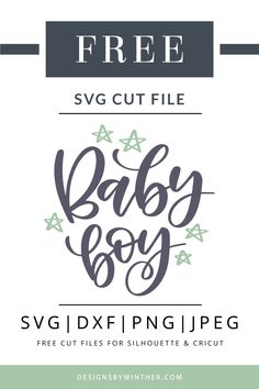 Free baby boy svg cutting file for silhouette and Cricut. Use this free vector clipart to make some beautiful DIY craft projects for your little baby boy. Make projects such as baby bodysuits, scrapbooking, cards, invitations and more. Diy Craft Projects, Free Font Design, Cricut Baby Shower, Baby Shower Fonts, Free Svg, Free Vector Clipart, Baby Boys, Baby Boy Cards, Diy Bebe