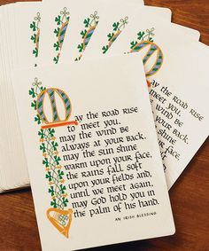 Look what I found on #zulily! 'May the Road Rise' Prayer Card – Set of 25 #zulilyfinds