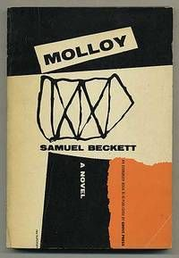 MOLLOY: A NOVEL by Samuel Beckett. Grove Press, 1955. Evergreen paperback. Cover by Roy Kuhlman, with alternate color scheme. www.roykuhlman.com