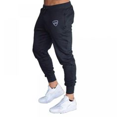 2018 Autumn Brand Gyms Men Joggers Casual Men Sweatpants Joggers Trousers Sporting Clothing The high quality Bodybuilding Pants Mens Jogger Pants, Mens Trousers Casual, Men Casual, Men Pants, Sweat Pants, Casual Pants, Running Pants, Skinny Pants, Hoodie Sweatshirts