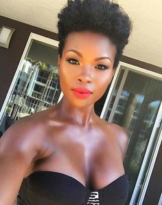 TWA Hairstyles for Women with Natural Hair Afro-textured hair is the natural hair texture of certain Natural Hair Cuts, Texturizer On Natural Hair, Natural Hair Styles, Tapered Afro, Tapered Haircut, Twa Hairstyles, African Hairstyles, Hairstyles Pictures, Hairdos