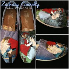Disney's Sleeping Beauty Toms Shoes.
