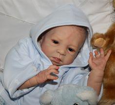Delight Nursery Reborn Baby Boy  Jamie  Sculpt by Olga Auer
