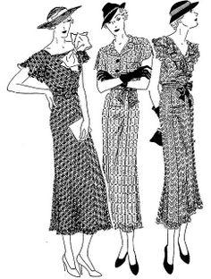 30's era clothing   30's Fashion Two