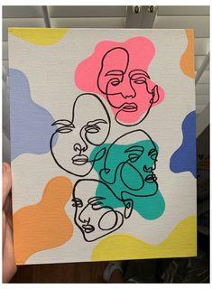 𝕓𝕪 𝕒𝕟𝕟𝕒𝕝𝕖𝕚𝕘𝕙𝕠𝕓𝕣𝕚𝕖𝕟 #painting #ideas #on #canvas #aesthetic #paintingideasoncanvasaesthetic Small Canvas Paintings, Easy Canvas Art, Small Canvas Art, Cute Paintings, Mini Canvas Art, Easy Art, Drawing On Canvas, Canvas Painting Designs, Diy Canvas