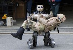 Watch the video on this page. Darpa's Next Grand Challenge: Build Us Lifelike, Humanoid Robots