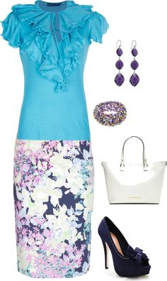"""""""Purple and Teal"""" by kanani-wilson on Polyvore"""