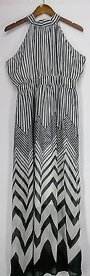 Elena Fashion Dress L Caroline Maxi Style Black NEW 2nd   eBay