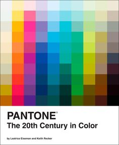 Cult: livro da Pantone lista as cores mais importantes do século 20