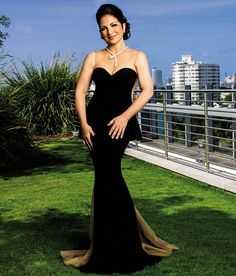 Classic beauty: Gloria Estefan proves she is the queen of Miami as she poses in her adopted city