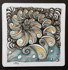 #zentangle #ispirazioni #inspiration   AKUA-ART