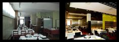 Reforma interior y nueva decoración del restaurante 'La Viña de Patxi' (Valladolid).  > RODRIGO ALMONACID (c) r-arquitectura