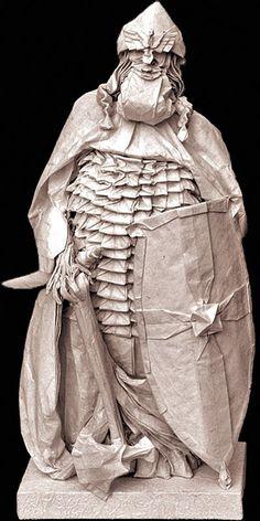 Eric Joisel  Artiste Origami extraordinaire