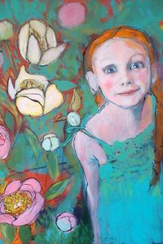 Six Fine Art Reproduction On Wood by Maria by MariaPaceWynters, $25.00