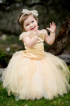 so cute!!!!Flower Girl Dress---Tutu and Top---Full of Sparkle---Perfect for Weddings or Portraits. $135.00, via Etsy.