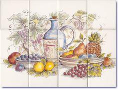 Still Life Kitchen Murals