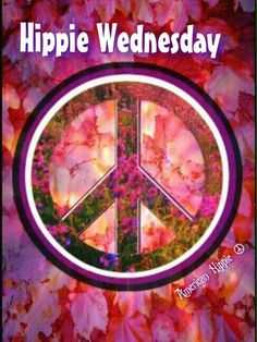 """Hippie Wednesday"" ✌Peace Sign"