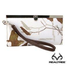 Realtree snow camo wallet.