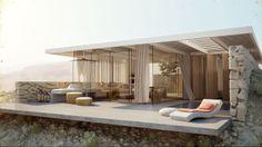 Desert Villa - Architecture Visualization. Architecture: Winestein Vaadia Architects  Music: 16 Bit - Texaco  2011