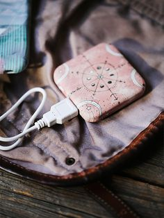 Free People Power Bank Charger at Free People Clothing Boutique