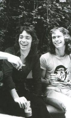 Steve Hackett and Tony Banks