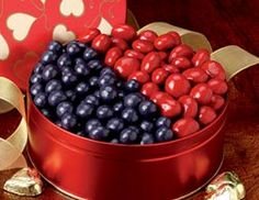 Chocolate Covered Bing Cherries & Blueberries | Valentine Selections - Pittman & Davis #chocolate #valentines #valentinesday