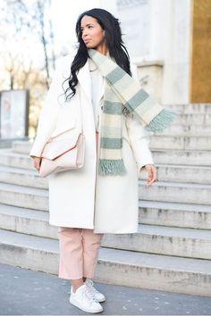秋冬必學!最潮流又實用的頸巾配搭方法!