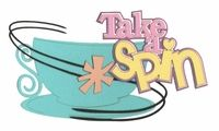 Theme Park: Take A Spin Laser Die Cut