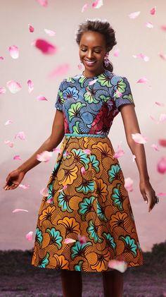 """""""Bloom"""": VLISCO's Spring 2014 Lookbook. In their...   DYNAMIC AFRICA"""