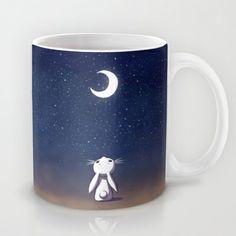Moon Bunny Mug by Freeminds - $15.00