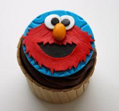 Celebrate with Cake!: elmo cupcake