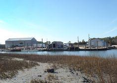 Willis Wharf Harbor, Willis Wharf, VA.