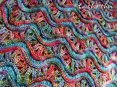 Ravelry: Knitted Cowl Chameleon pattern by Svetlana Gordon