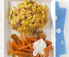 Karamell-Möhren mit Couscous For pregnant / lactating women: caramel carrots with couscous Healthy Dessert Recipes, Healthy Drinks, Baby Food Recipes, Great Recipes, Diet In Pregnancy, Pregnancy Nutrition, Couscous Healthy, Quinoa, Food For Pregnant Women