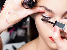 We imagine the mind of a makeup artist must swirl with brightly colored lipsticks and creamy (but never cakey) foundations, shiny glosses and powdery shadows, crisscrossing and intertwining into a...