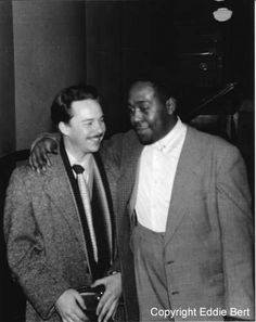 Eddie with Charlie Parker 1950