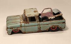Hot Wheels Custom '62 Chevy Pick Up by Toxic Kustomz