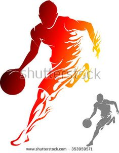 7 sources of free design inspiration from stock libraries - 7 sources of free design inspiration from stock libraries Basketball Art, Basketball Players, Basketball Design, Sports Logo, Graphic Design Inspiration, Free Design, Sketches, Stock Photos, Illustration