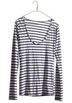 Long Sleeve T Shirt - Stripe