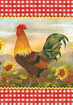 Rooster flag