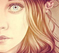 Drawing of kristina Webb