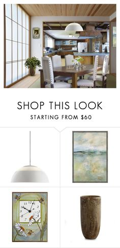 """""""FEELS LIKE SUNDAY MORNING"""" by arjanadesign ❤ liked on Polyvore featuring interior, interiors, interior design, home, home decor, interior decorating, Louis Poulsen, WALL, AERIN and kitchen"""