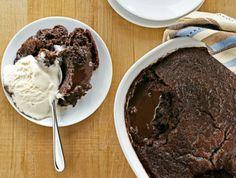 Warm & Oozy Chocolate Pudding Cake Recipe