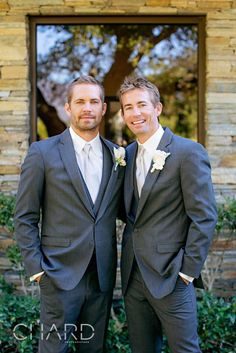 Six weeks before his tragic car accident, Paul Walker appeared radiant as the best man in his brother Caleb's wedding.