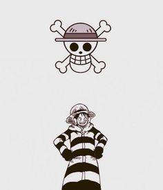 Luffy - Jolly Roger by DavidExposito on deviantART