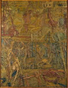 Frank Auerbach, 'Oxford Street Building Site I' 1959-60